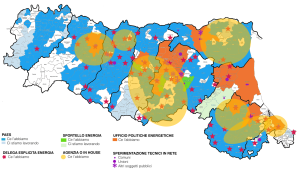Assetti organizzativi: mappe della densità